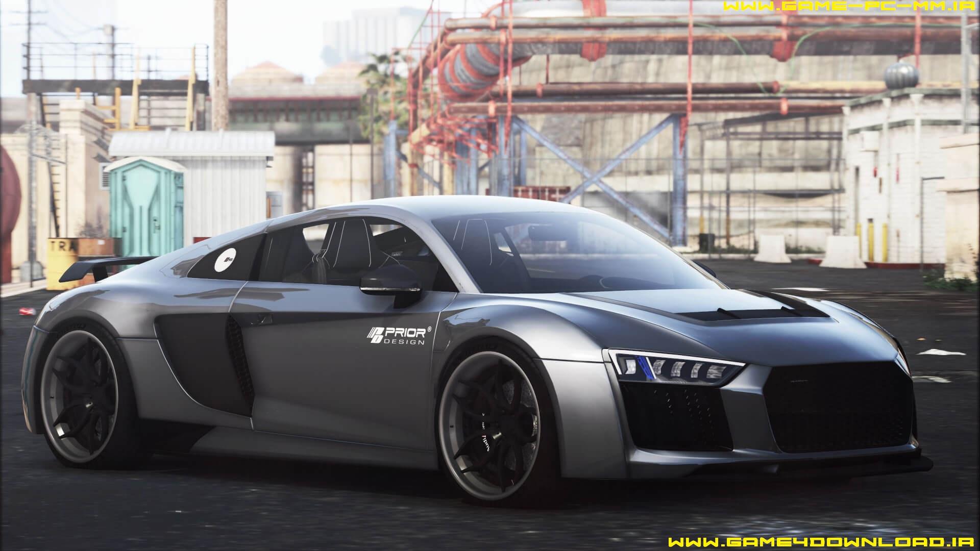 دانلود ماشین Audi R8 برای بازی GTA V