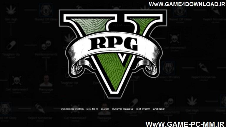 دانلود مود GTA RPG برای بازی GTA V