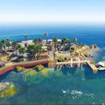 دانلود جزیره بسیار زیبا برای GTA V