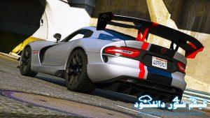 دانلود ماشین SRT Viper ACR 2016 برای GTA V