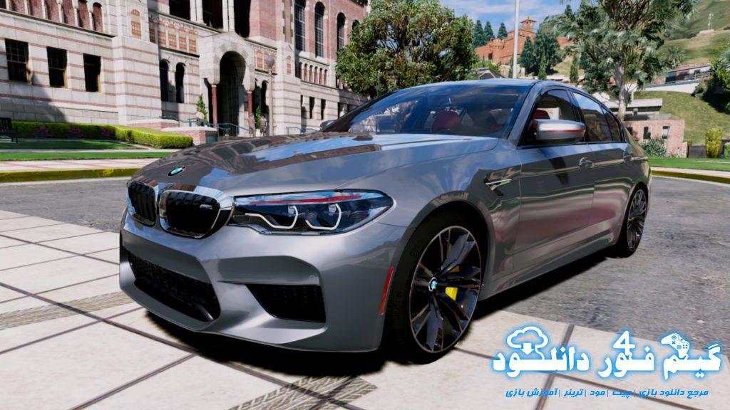 ماشین BMW M5 F90 2018 برای GTA V