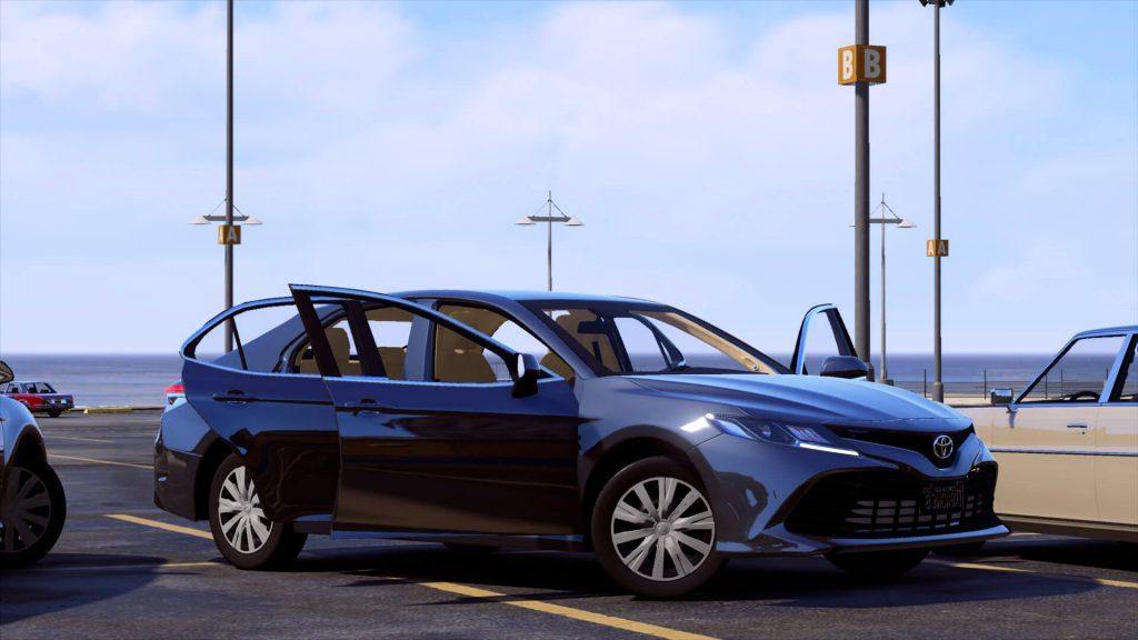 ماشینToyota Camry 2019 LE برای GTA V