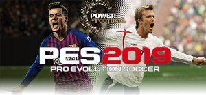 دانلود ترینر بازی Pro Evolution Soccer 2019