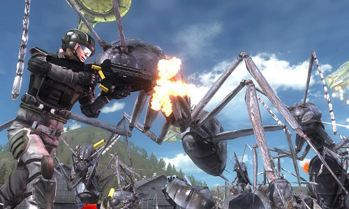 ترینر بازی Earth Defense Force 5